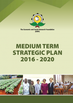 The Official Launch of ESRF's Medium Term Strategic Plan 2016 - 2020